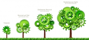 IT Outsourcing Modelle: Festpreis, Personal auf Zeit und dediziertes Personal