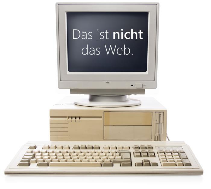 Computer sind nicht mehr das web.