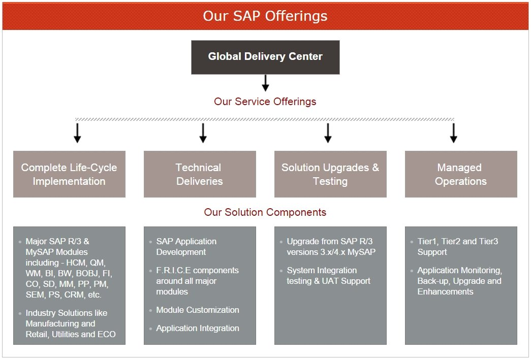 Our SAP Offerings
